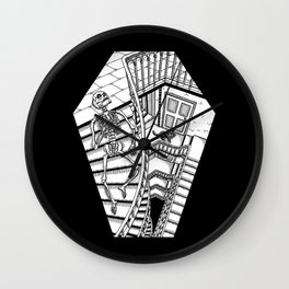 Dead Staircase Wall Clock