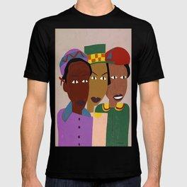 Three Friends by William H. Johnson T-shirt