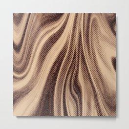 Toasted Sand Metal Print