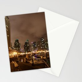 Coal Harbour Vancouver New Years Eve 2017 Stationery Cards