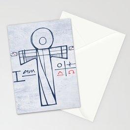 Jesus Christ and symbols Stationery Cards