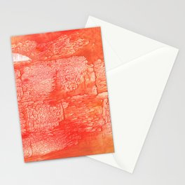 Tomato yellow Stationery Cards