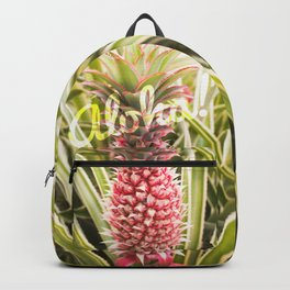 Pink Pineapple Aloha! Backpack