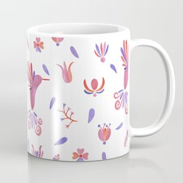 Quetzal bird - Mexican Folk Coffee Mug