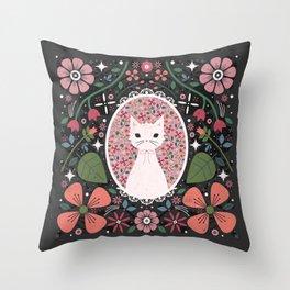 Kitten Cameo  Throw Pillow