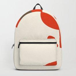 Flower seventies style Backpack