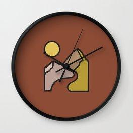 Simple Landscape Wall Clock