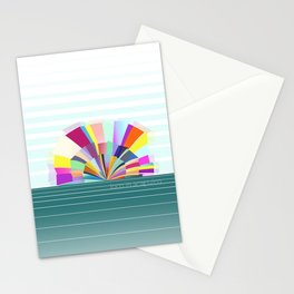 loco in acapulco Stationery Cards