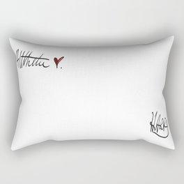 All The Love, Harry. x Rectangular Pillow