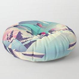 Hit that jump Floor Pillow