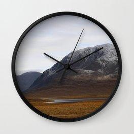 Alaska Range in Autumn Wall Clock