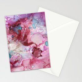 Pink Paralysis Stationery Cards