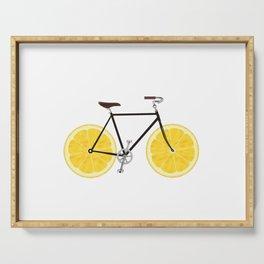 Lemon Bike Serving Tray