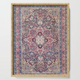 Kashan Central Persian Rug Print Serving Tray