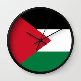 Flag of Palestine Wall Clock