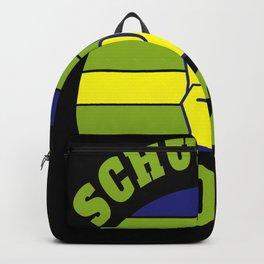 School enrolment start of school child vintage Backpack