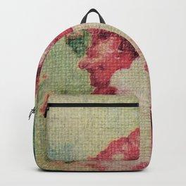 Tapestry - Original Art - Mixed Media Backpack