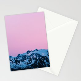 Sunset Over Olympic Stationery Cards