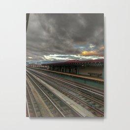 NY Tracks Metal Print