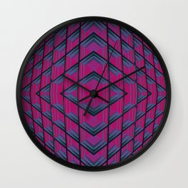 Geometric Descent Wall Clock