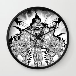King Geedorah Wall Clock