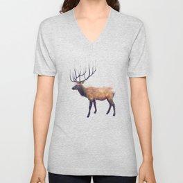 Elk // Reflect (Left) Unisex V-Neck