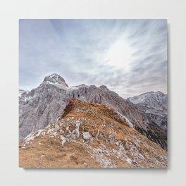 mountain landscape 7 Metal Print