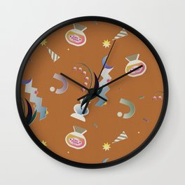 Halloween object Wall Clock