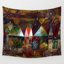Paul Klee Night Feast Wall Tapestry