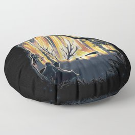 Master of the Forest Floor Pillow
