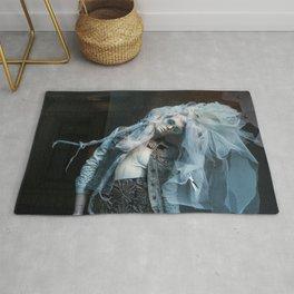The Blue Lady Dances Rug