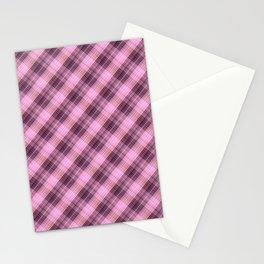 Сolorful plaid, plaid plaid, beautiful plaid 4 Stationery Cards