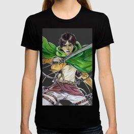 Eren Jaeger (dark gray background) T-shirt