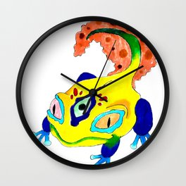 Lick The Toad Wall Clock