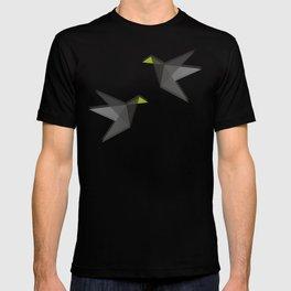 Black and White Paper Cranes T-shirt