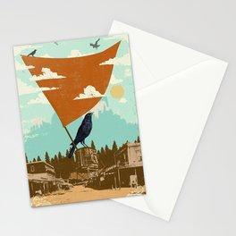 WESTERN RAVEN Stationery Cards