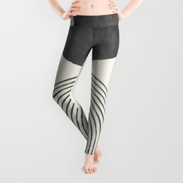 Boho Minimal Abstract Leggings