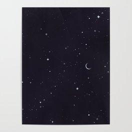Starry Sky Poster