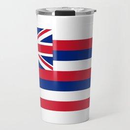 Flag of Hawaii - Hawaiian Flag Travel Mug