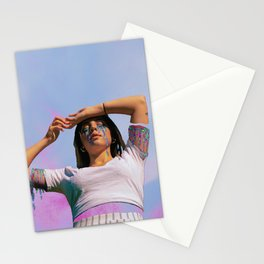 Rainbow Blood Stationery Cards