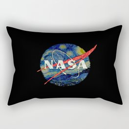 Starry Nasa Rectangular Pillow