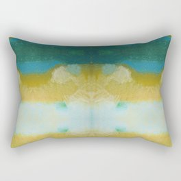 abstract pastel design Rectangular Pillow