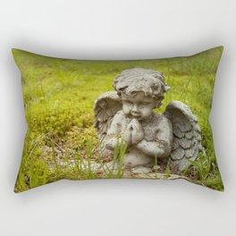 Moss and Angel Rectangular Pillow