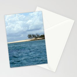 Tropical Island Seascape Mozambique Africa Stationery Cards