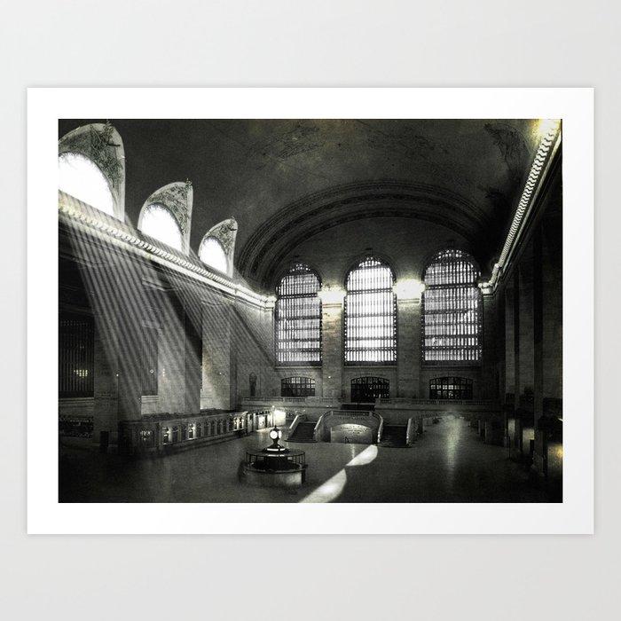 Grand Central Terminal, Empty Art Print