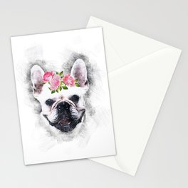 Frenchie Bulldog Stationery Cards