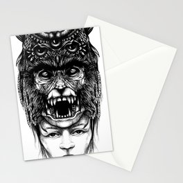 WolfGirl Second Stationery Cards