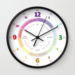 Lernuhr EasyRead Teaching Clock Wall für Children Wall Clock