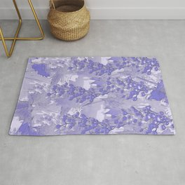 Blue grapes - abstract Rug