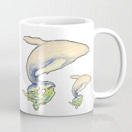 Humpback whale jump Coffee Mug